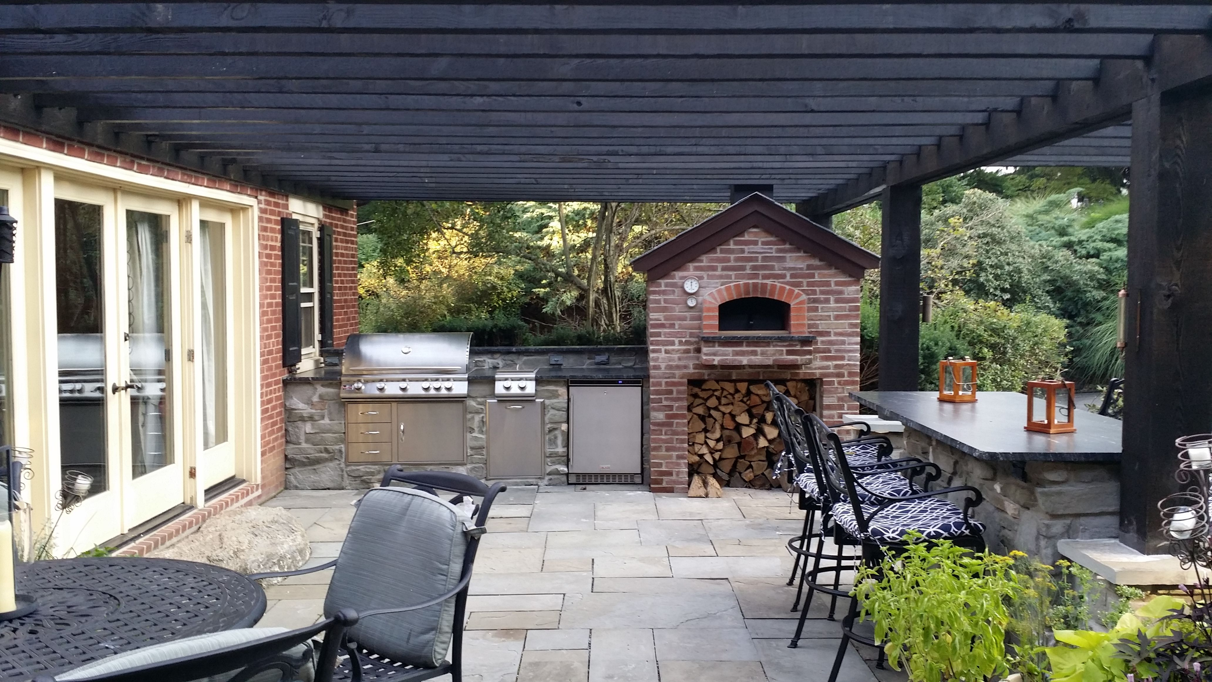 Our outdoor kitchen and pergola project, all complete ... on Complete Outdoor Living id=60372