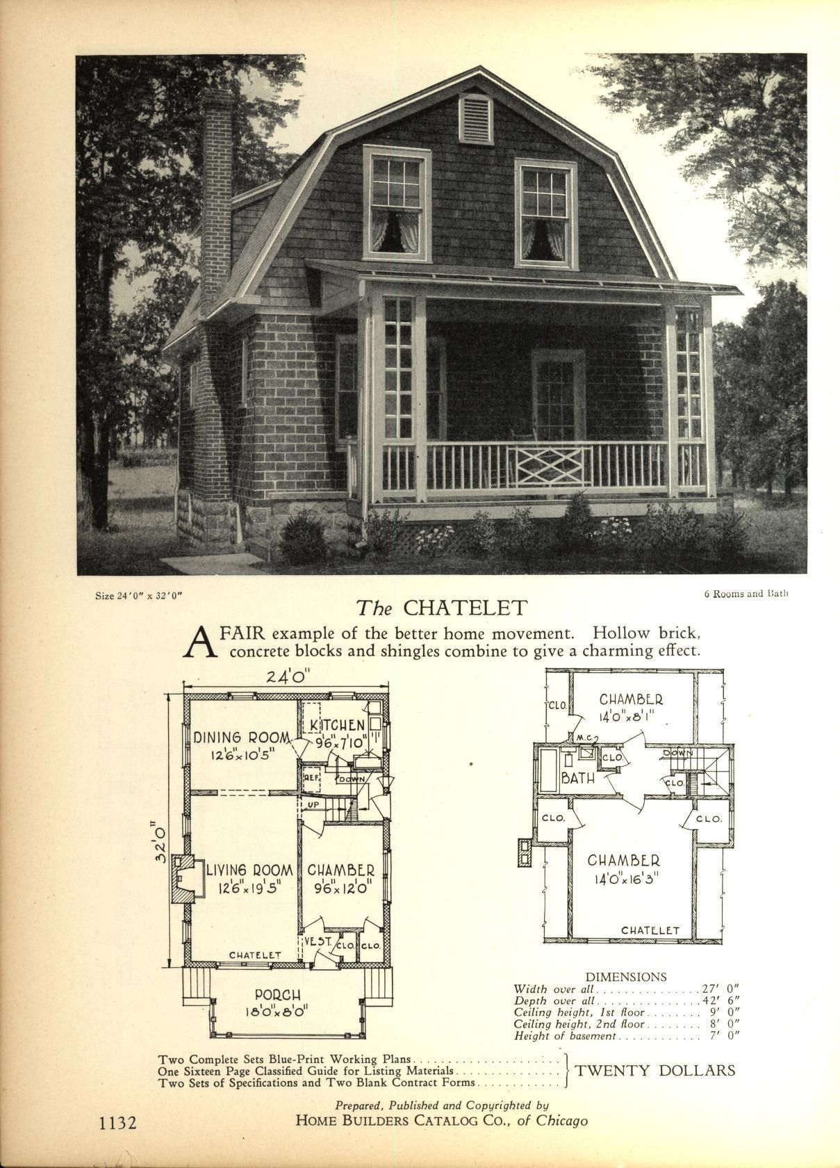 The CLET - Home Builders Catalog: plans of all types of small ...