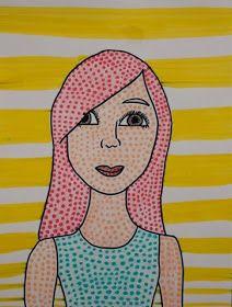 Photo of Benday Dots (Lichtenstein's Style Self Portraits)