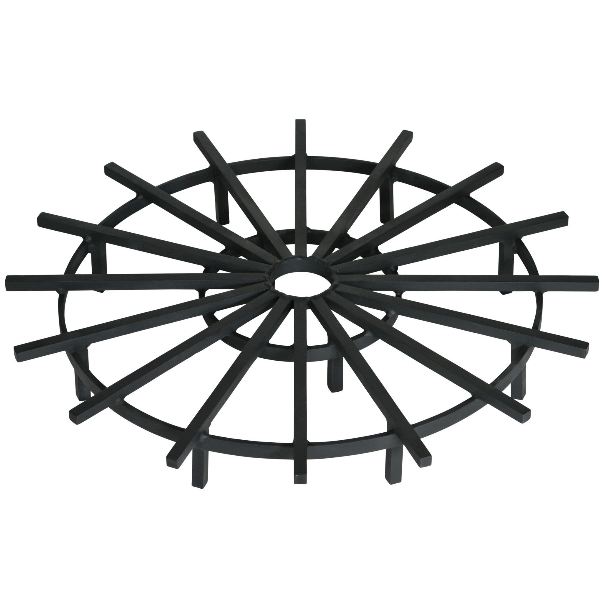20 Inch Super Heavy Duty Ship\'s Wheel Fire Pit Grate | Products