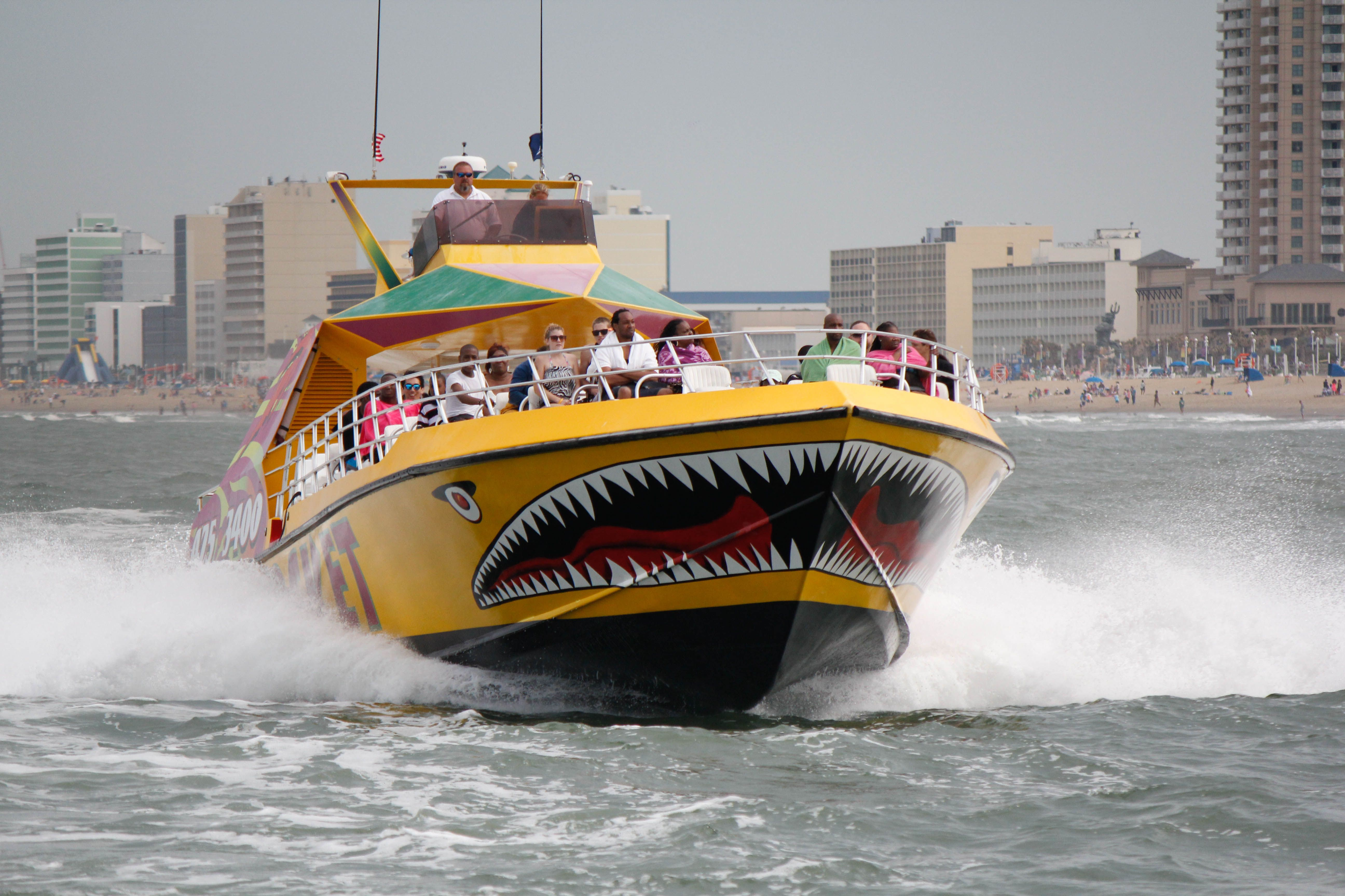 Cool Off On The Rudee Rocket Greatest Thrill Ride In Virginia Beach You