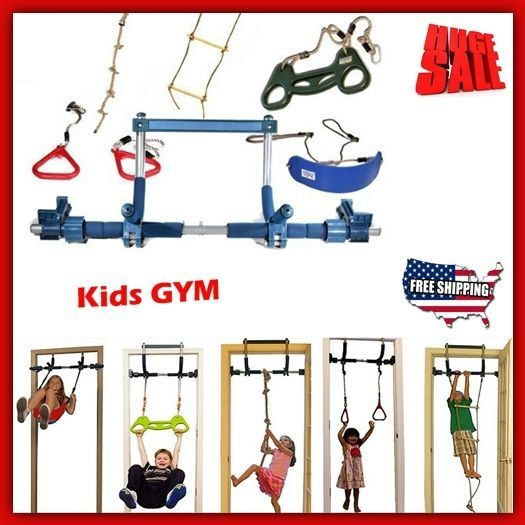 Swing Sets For Kids Indoor Gorilla Gym Equipment Playground Climbing