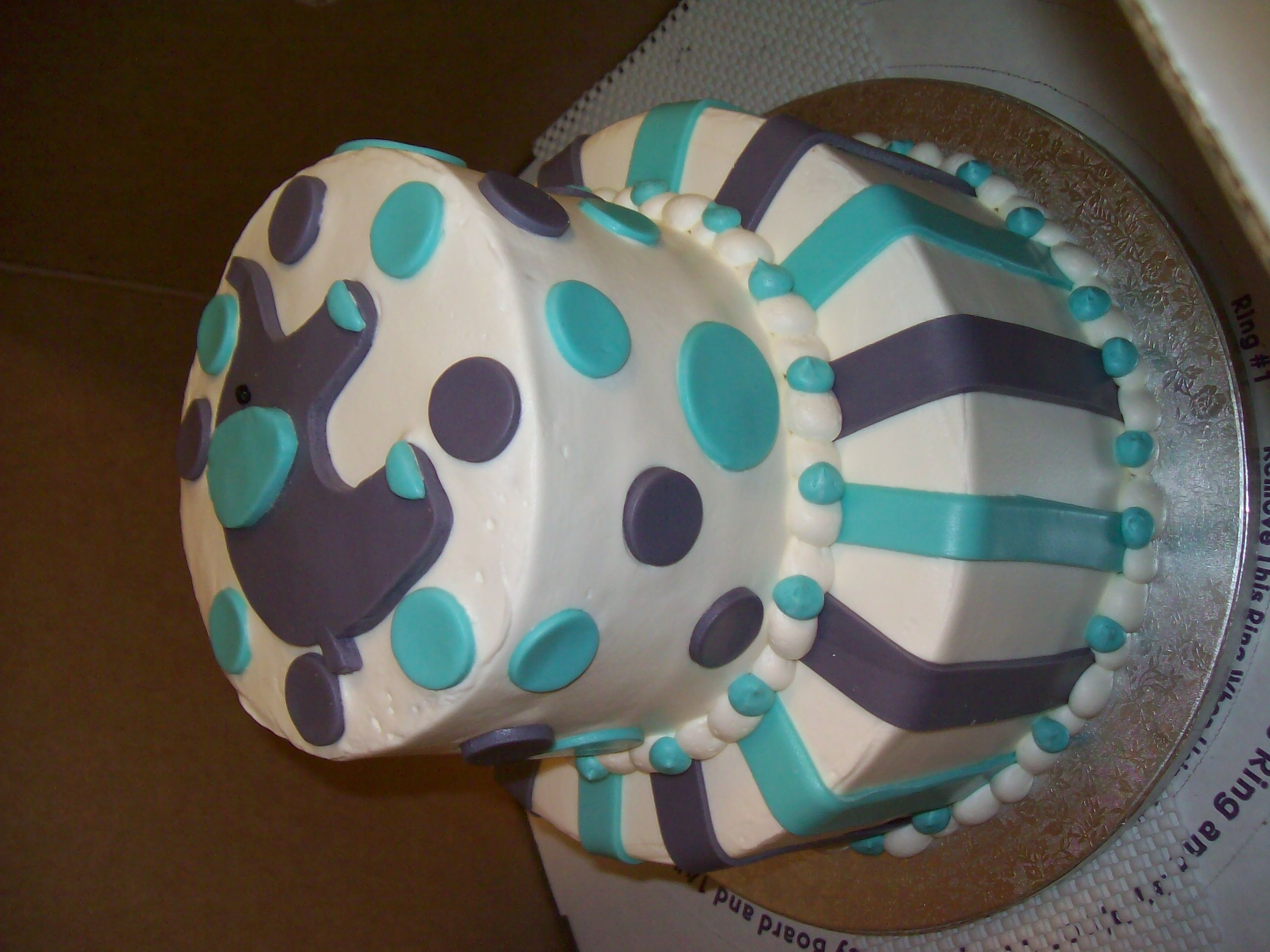 Nice Perfect Baby Shower Cake, Publix Event Planning, Jacksonville, FL