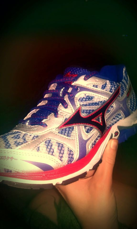 My new running buddies! Mizuno Wave Elixer 7s! Can't wait to put on some miles tomorrow :)