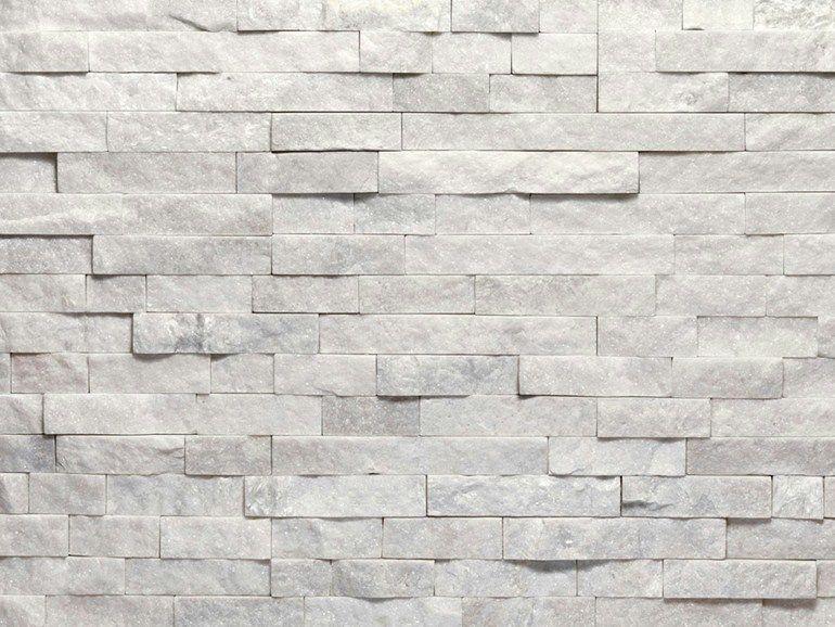 Molto Rivestimento di facciata in pietra naturale SCAGLIA BIANCA - B&B  QV38