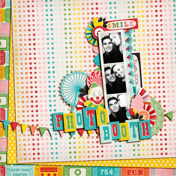 County Fair Complete Kit Digital scrapbooking layouts