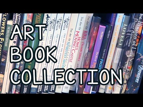 My ART BOOK Collection - YouTube
