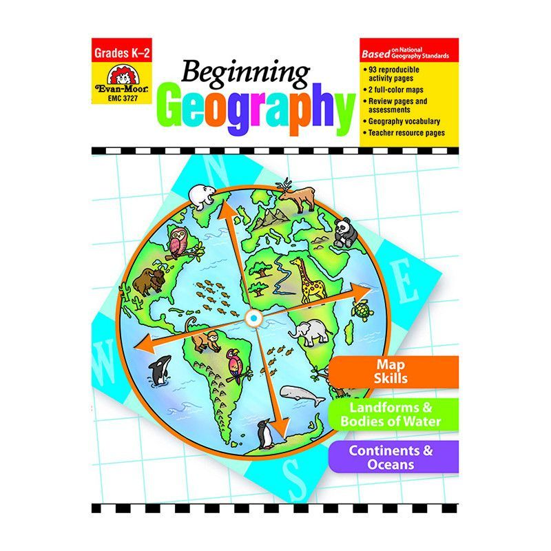 Elementary School National Curriculum: Build The Foundations For Geography Literacy! Beginning