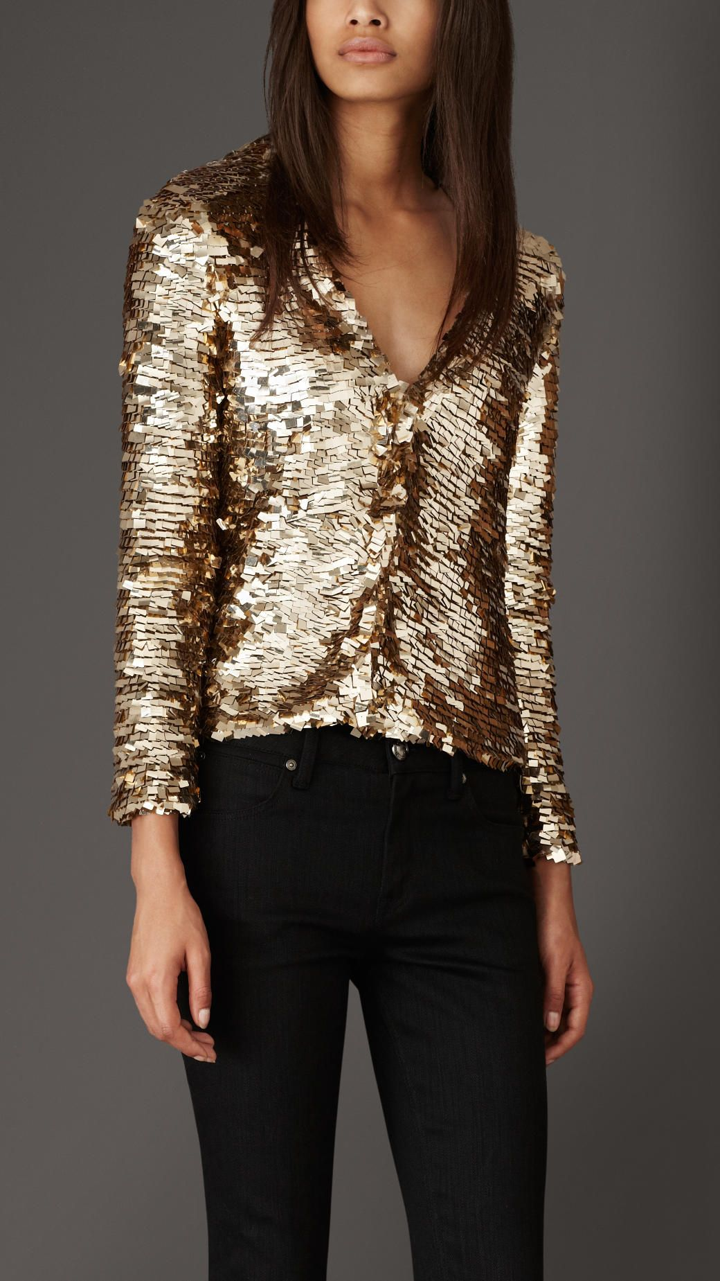 Women's Clothing | Burberry | Sequin cardigan and Sequins
