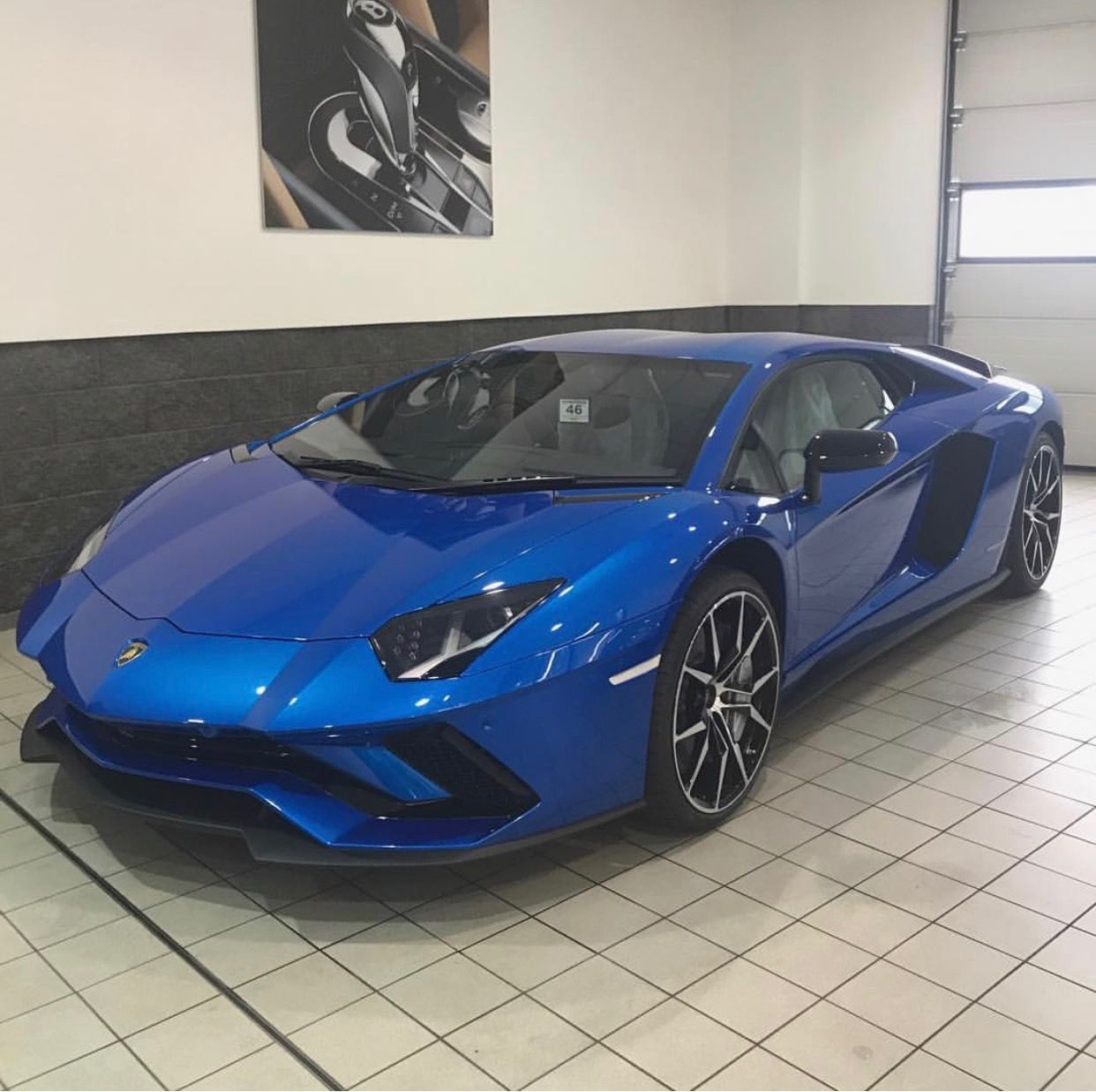 Lamborghini Aventador S Coupe Painted In Blue Nethuns Photo Taken By Invisifilm On Instagram