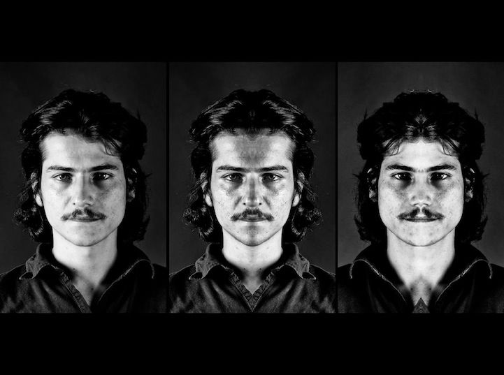 Asymmetrical Faces Revealed Through Mirrored Composites - My Modern Metropolis - interesting.  Maybe being perfectly symmetrical isn't all it's cracked up to be.