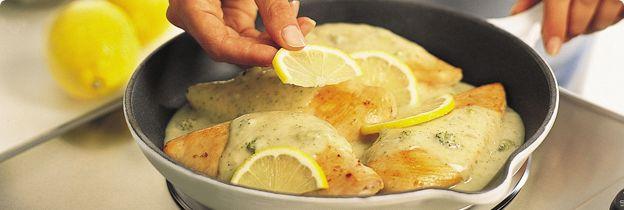 2 Step Lemon Broccoli Chicken