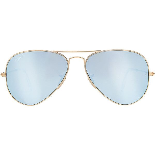 620e2f9134 Ray-Ban Aviator Sunglasses (£165) ❤ liked on Polyvore featuring accessories