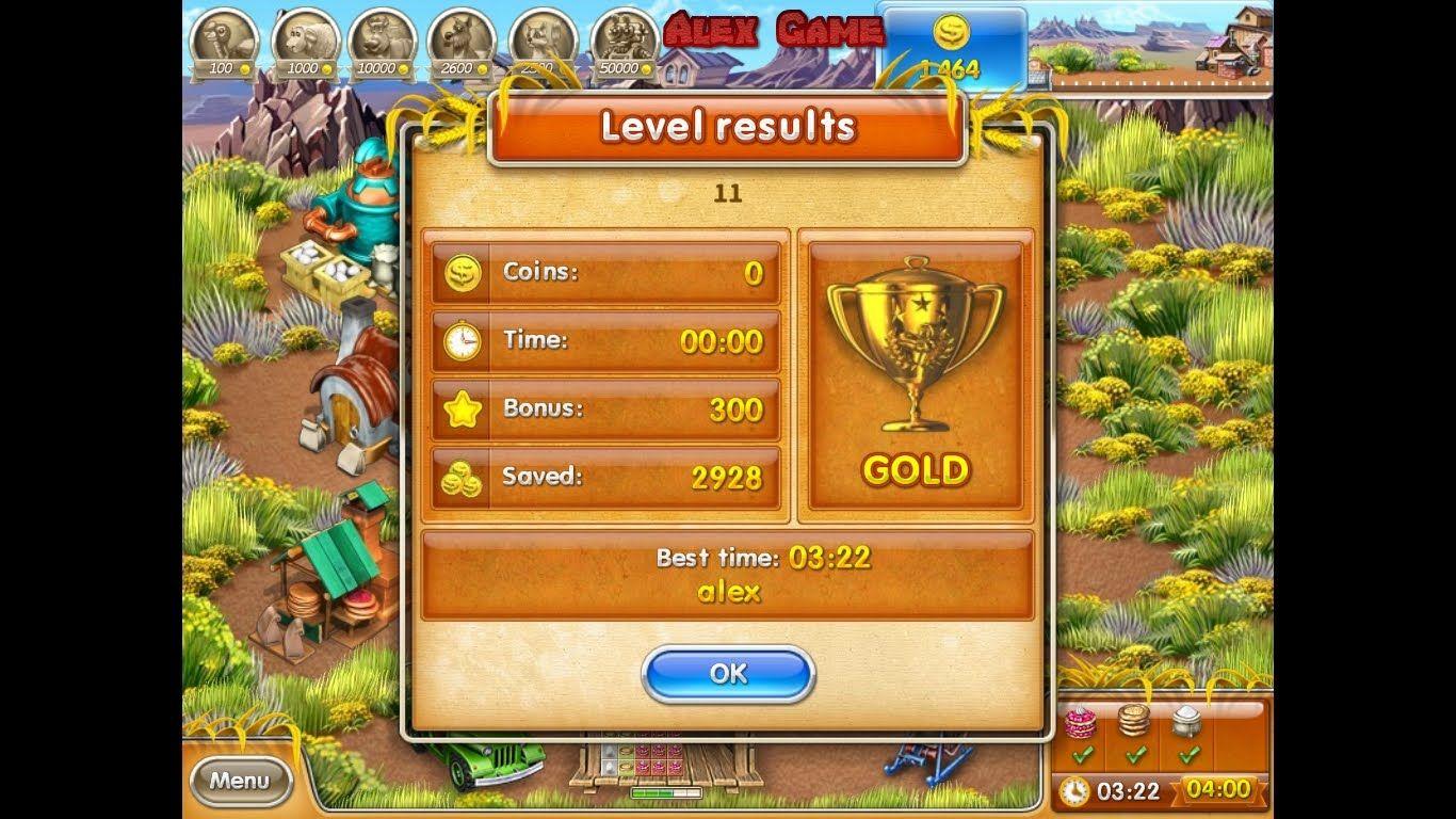 Farm Frenzy 3 American Pie (level 11) only GOLD Веселая ферма 3 Американский пирог Уровень 11 Золото
