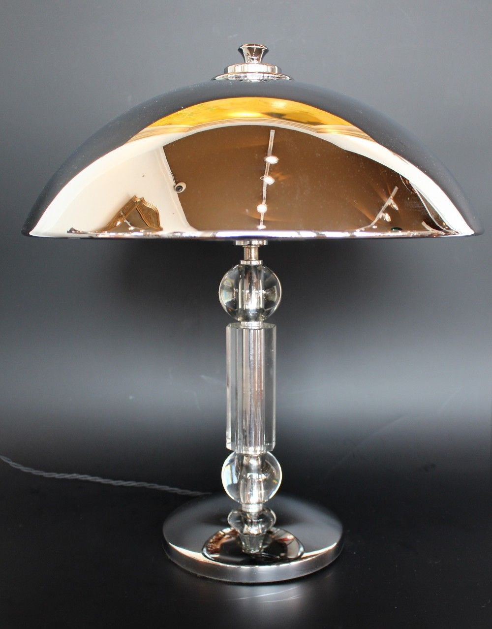 Art Deco Dome Lamp Art Deco Art D
