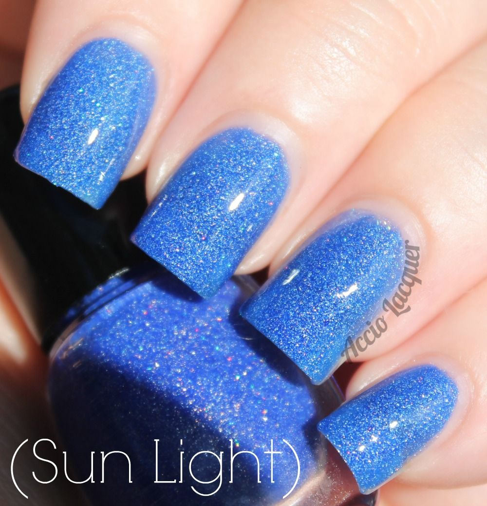 Fantasy Nail Lacquer Sapphire Rose | Polished | Pinterest | Swatch