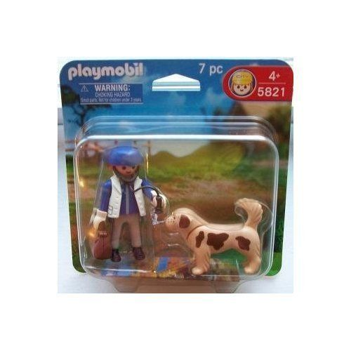 Playmobil 5821 Vet with Dog 2 pack by Playmobil. $6.75. Playmobil 5821 Vet with Dog 7 pcs