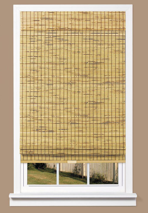 Home Depot Woven Shade Decor Textured Window Treatments Woven