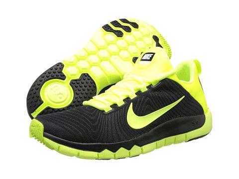 dafcbdbc9ae64 Nike Free Trainer 5.0 Black Volt - Zappos.com Free Shipping BOTH Ways