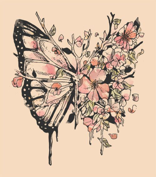 15a7f16323a64 Keep the branches exactly as they are, but, instead of the butterfly wing,