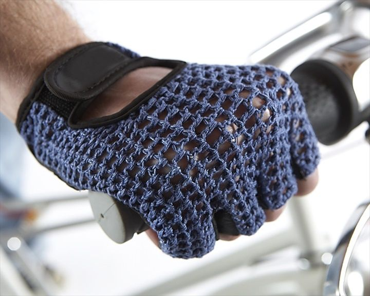 Vintage Style Multi Color Best Crochet Mitts Cycling Gloves