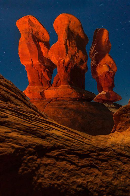 Three Kings, Grand Staircase/Escalante Wilderness in Utah