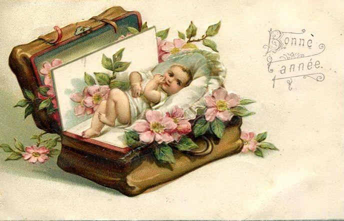 Поздравительные открытки винтажные с днем рождения