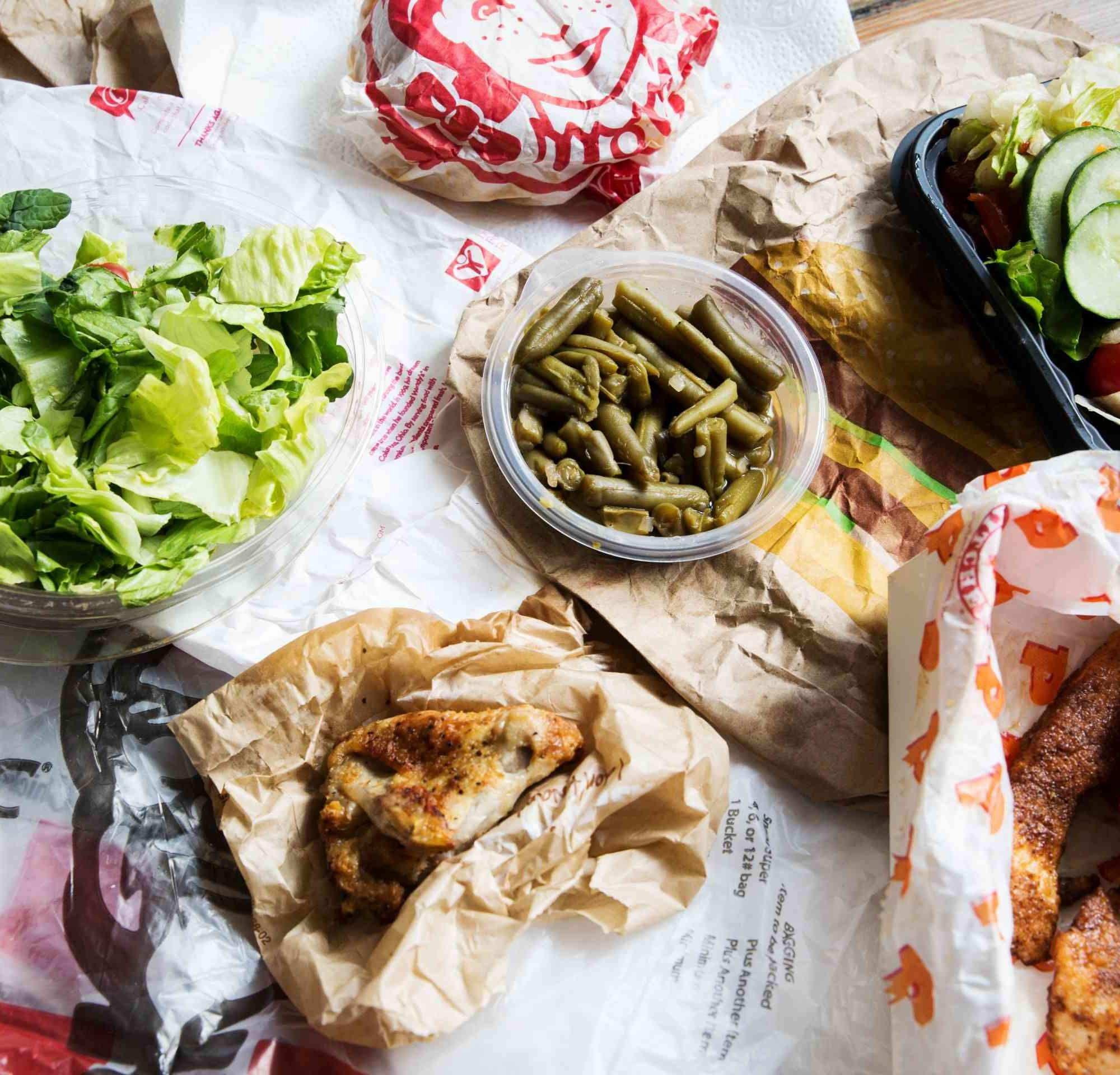 The Healthiest Order at Every Major FastFood Chain Fast