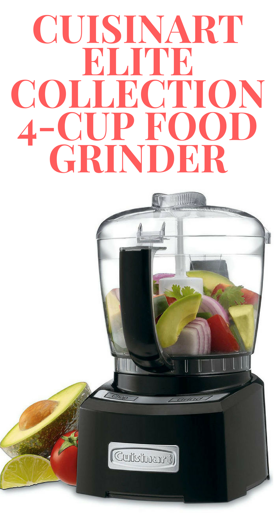The Cuisinart Elite Collection 4-Cup Food Grinder makes quick work ...