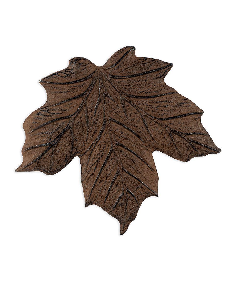 Love This Rust Wilderness Wonder Maple Leaf Stepping Stone