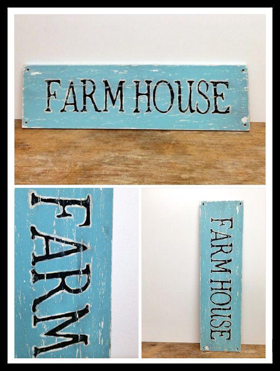 Farmhouse Sign Salvaged by beachbabyblues