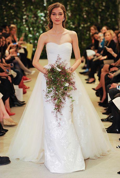 Carolina herrera spring 2016 2016 wedding dresses carolina brides carolina herrera spring 2016 wedding dress by carolina herreraphoto courtesy junglespirit Gallery