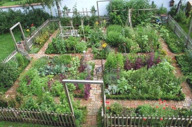 bauerngarten anlegen beispiele kunstrasen garten | alex garten, Garten und erstellen