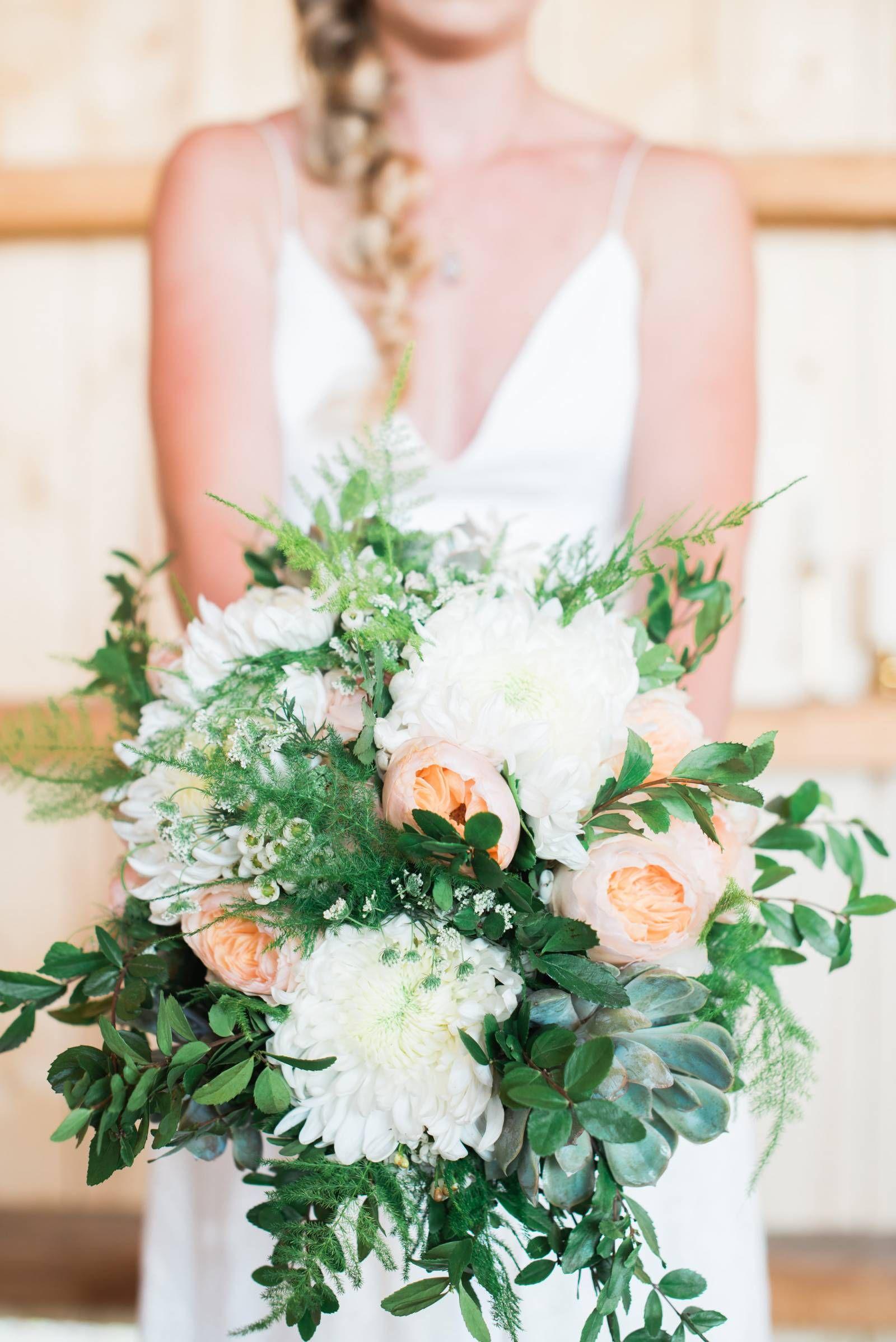 Orange Green And White Wedding Floral Design Wedding Inspiration