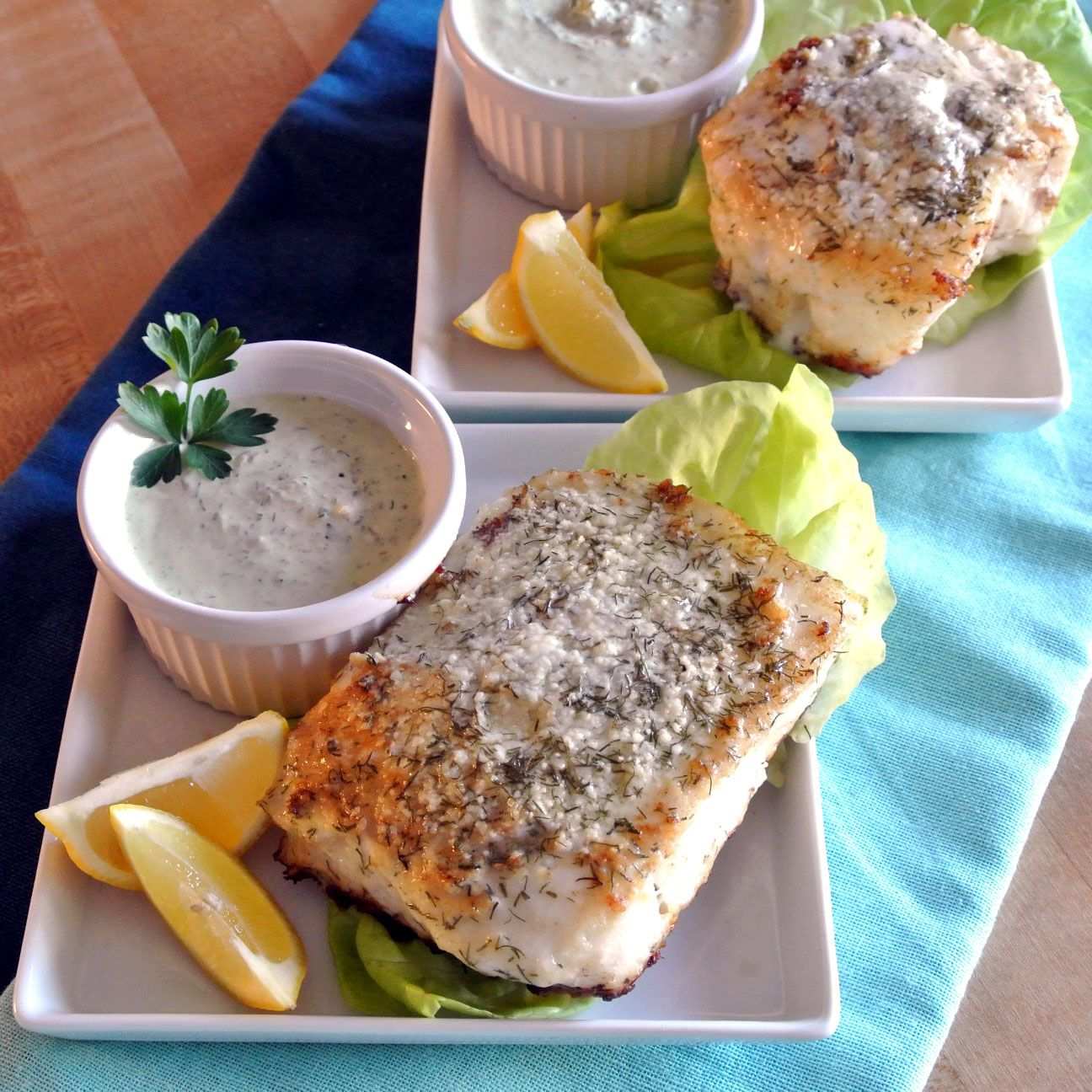 Mom, What's For Dinner?: Parmesan Dill Sea Bass