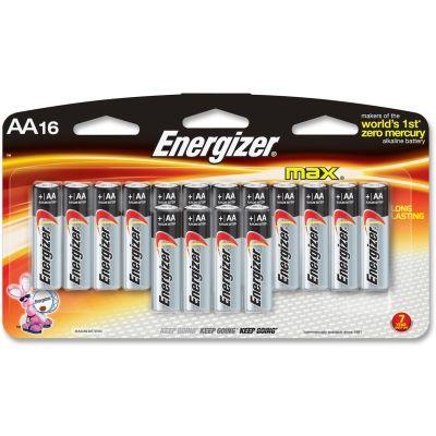 Energizer Max Alkaline Aa Batteries E91lp16ct With Images Energizer Prepper Supplies Alkaline Battery