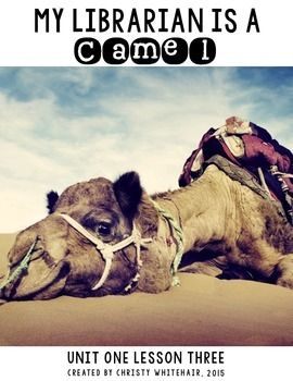 My Librarian Is A Camel Vocabulary