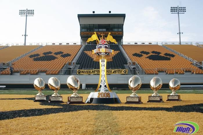 And, of course, ESPN's TitleTown with 6 National Title Trophies for Valdosta  High School