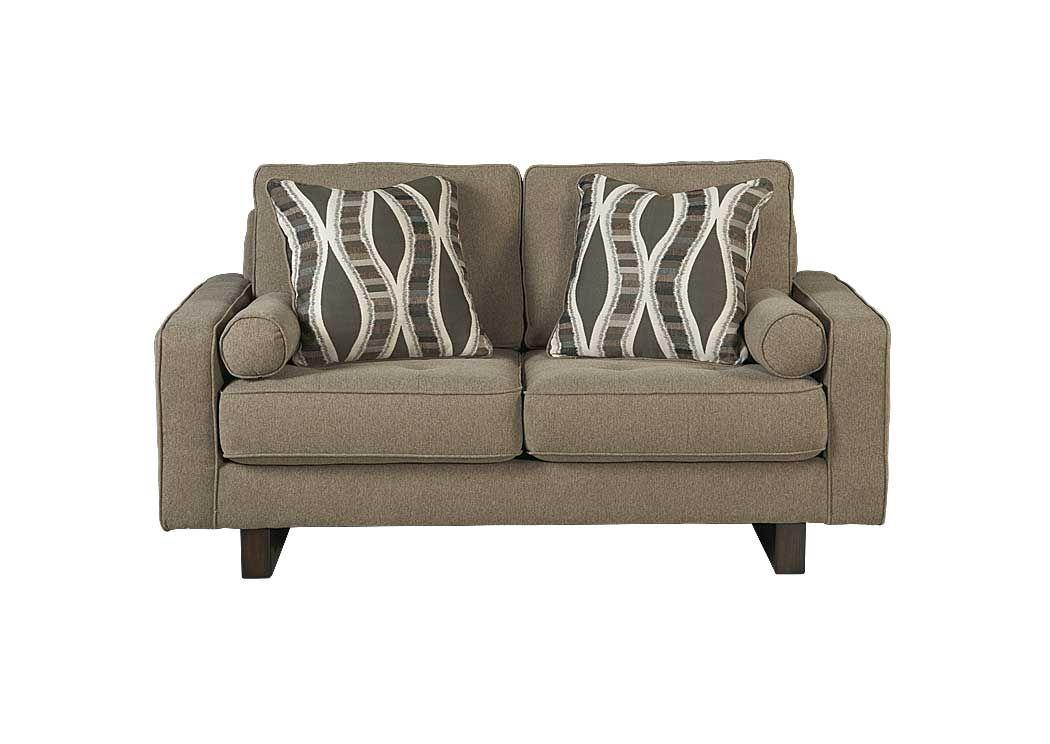 Chatham Furniture Savannah Ga Treylan Smoke Loveseat
