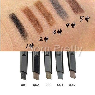 $ 2,99 1pc Lápis de sobrancelhas Platycephalic Flattened Projeto Lápis de sobrancelhas - BornPrettyStore.com