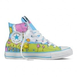 Blue & Yellow Dr Seuss Baby Shoes : Baby Converse Shoes |