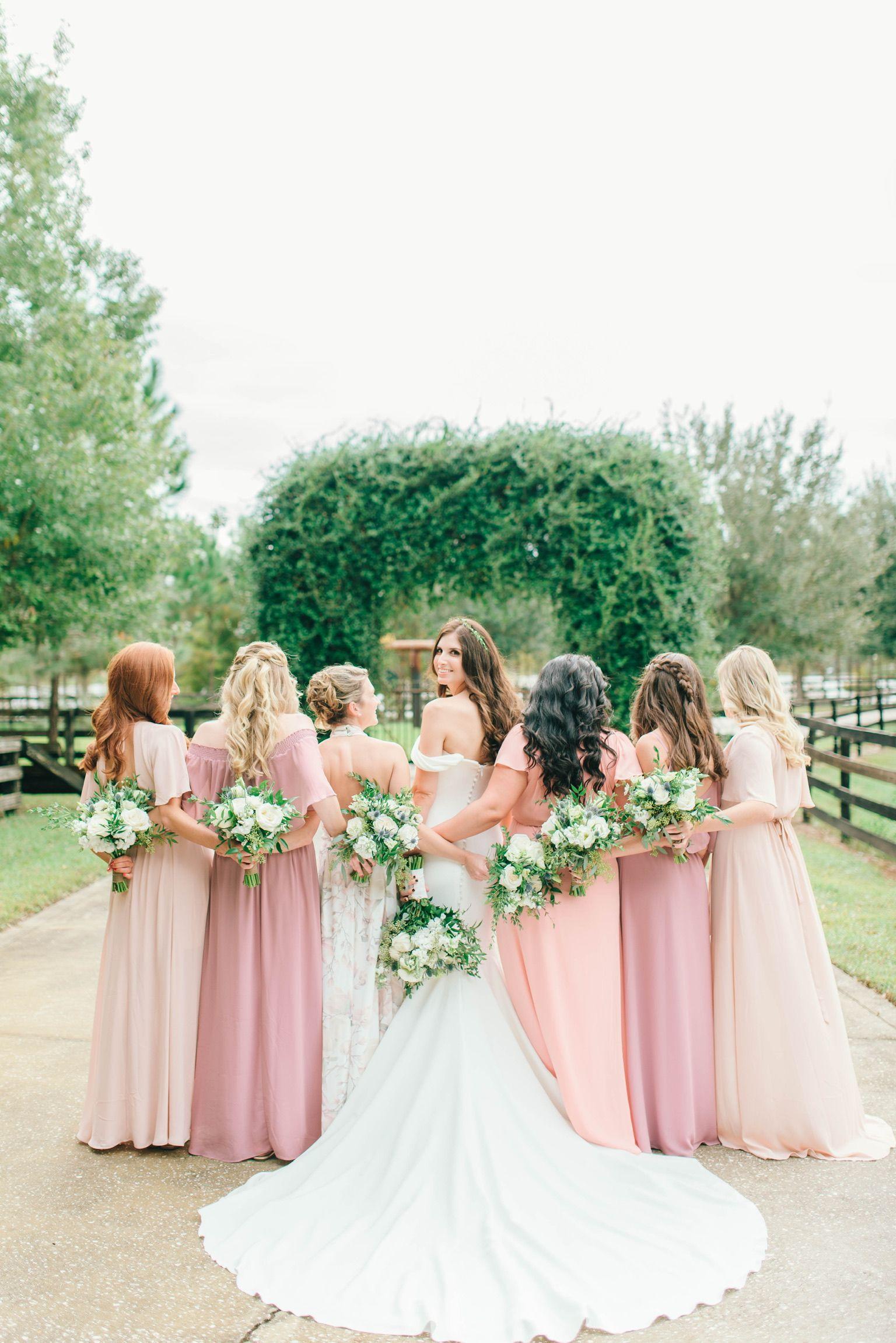 Pink Blush Coral Color Bridesmaid Dresses Show Me Your Mumu Blush Bridesmaid Dresses Pink Bridesmaid Dresses Bridesmaid Dresses Boho