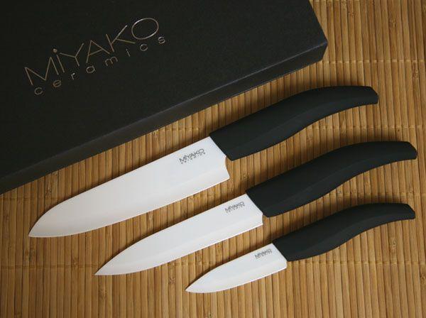 Miyako Ceramic Knives Review Ceramic Knife Knife Ceramics