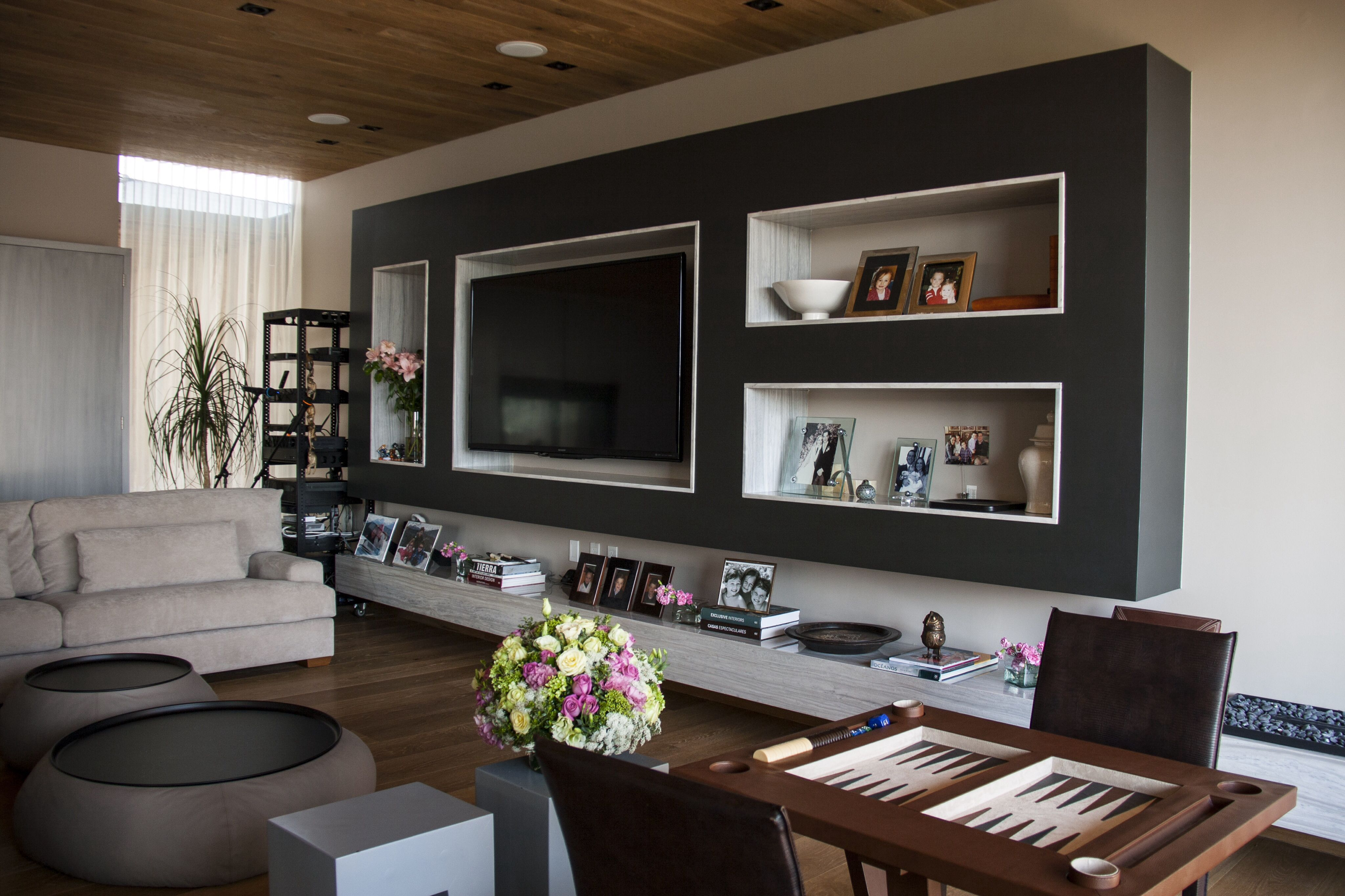 casa ss cuarto de juegos mueble de tv decoracin plafn de madera