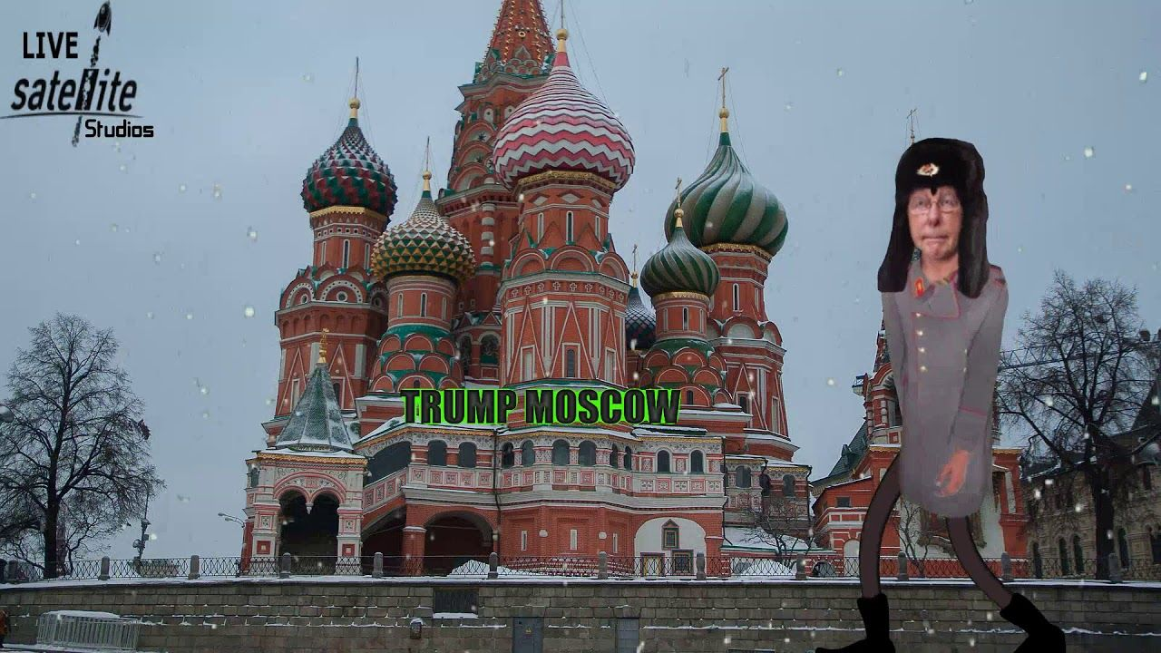Moscow Mitch Stands Guard Over Trump Tower Moscow Funny