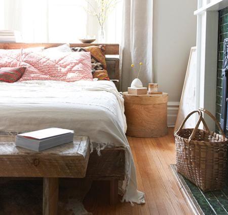 Dormitorio rstico moderno Rstico tnico natural orgnico by