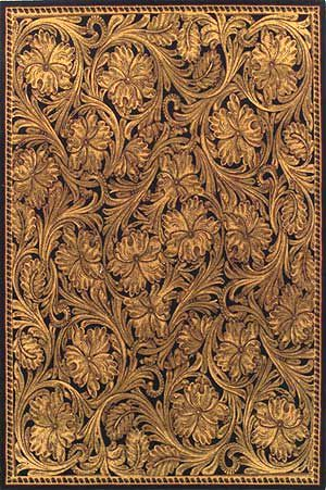 When You Think Of Western Style Tooled Leather This Rug Recreates A Por Design In Soft Plush