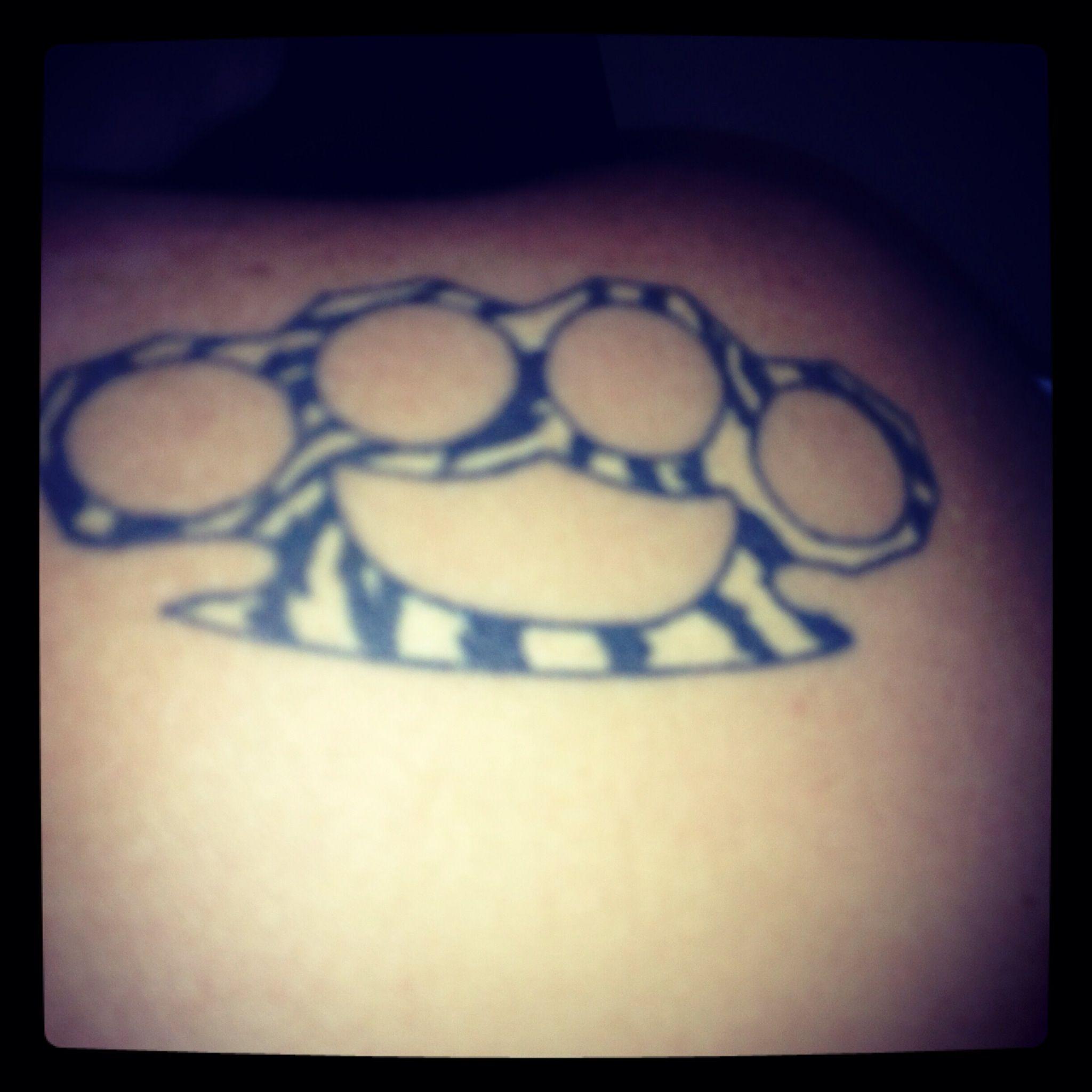 Zebra print brass knuckles | Tattoos | Tattoos, Friendship ...