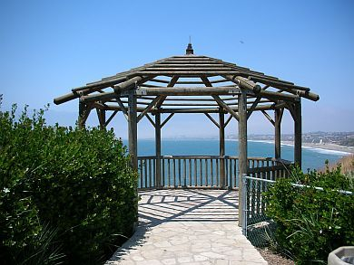 Gazebo At Roessler Point Palos Verdes Estates Ca 90274 Got Married Here