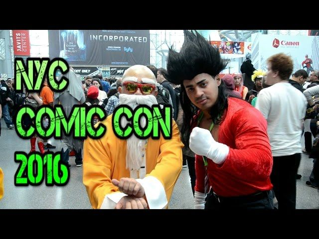 New York City Comic Con 2016 NYCC Vlog - Video --> http://www.comics2film.com/new-york-city-comic-con-2016-nycc-vlog/  #Cosplay